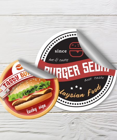 Food Label Sticker